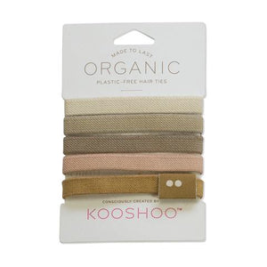 Kooshoo Plastic Free Hair Ties - be pure beauty