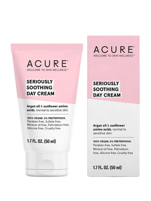 Seriously Soothing Day Cream - shop now at be pure
