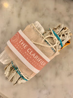 The Clarifier -Sage. Rose. Selenite Bundle