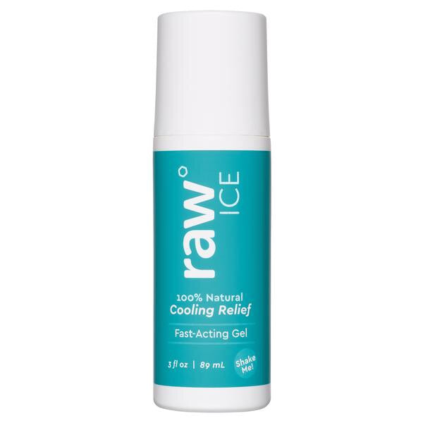 Raw Ice Gel 3oz Roll-On - shop now at be pure