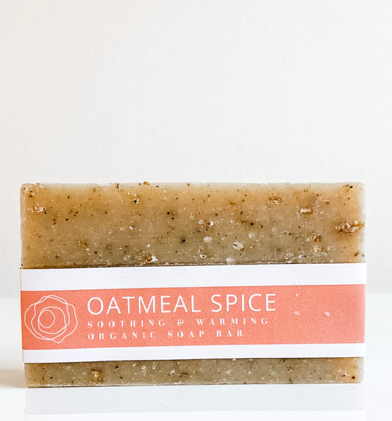 Organic Bar Soap - Oatmeal + Spice