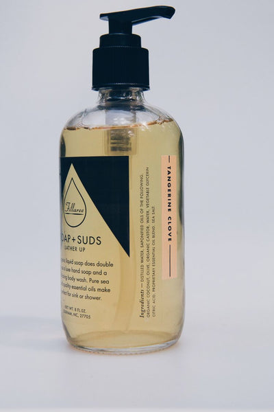 Soap + Suds Hand/Body Wash 8 oz. - shop now at be pure