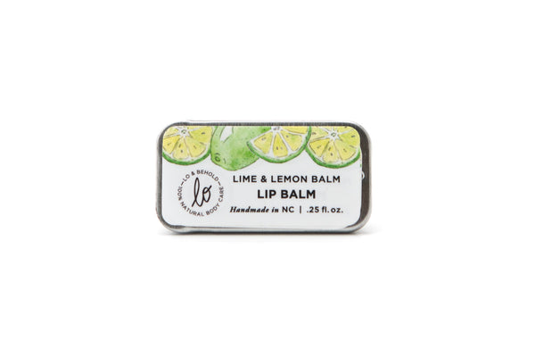 Lime & Lemon Lip Balm - shop now at be pure