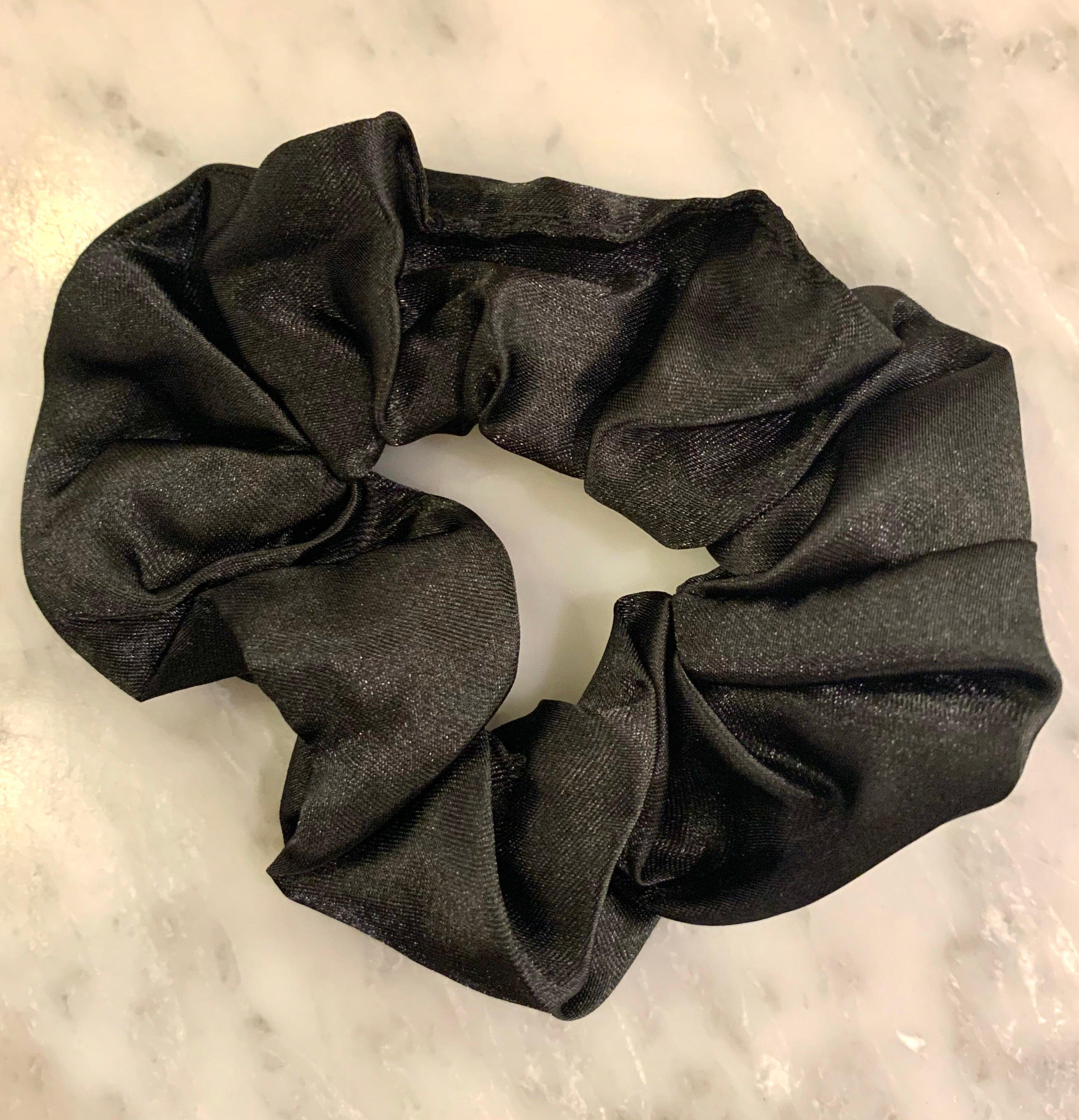 Satin Hair Scrunchie - shop now at be pure
