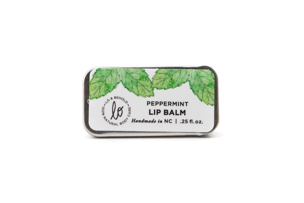 Peppermint Lip Balm - shop now at be pure