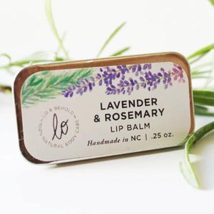 Lavender & Rosemary Lip Balm - be pure beauty