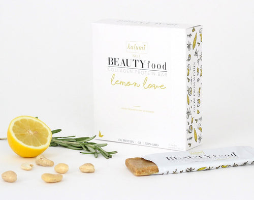 Lemon Love Collagen Protein Bar - be pure beauty