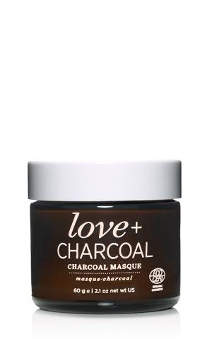 Love + Charcoal Masque - shop now at be pure
