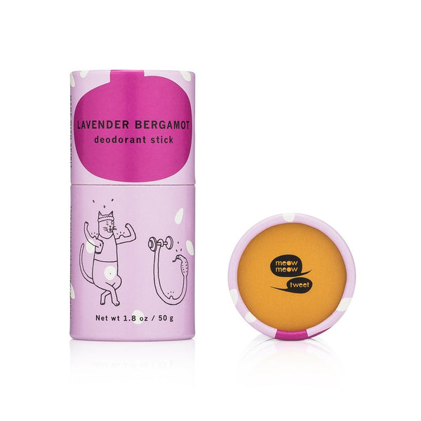 Meow Meow Tweet - Lavender Bergamot Deo - shop now at be pure