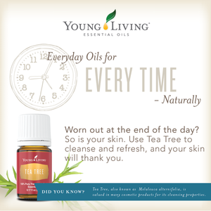 Young Living Essential Oils - Everyday Oils for Every Time - Naturally