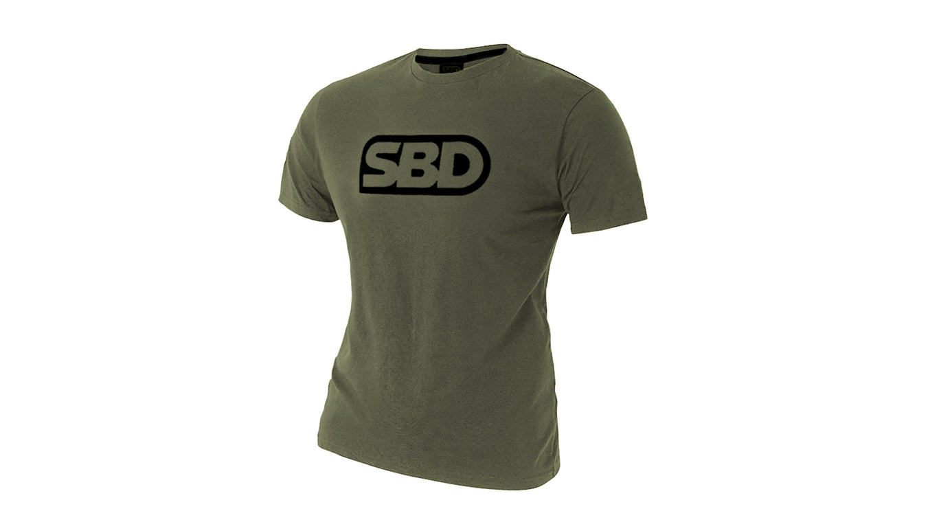 SBD Endure Range Green T Shirt  - Mens