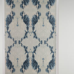 eco friendly blue and white wallpaper made in usa