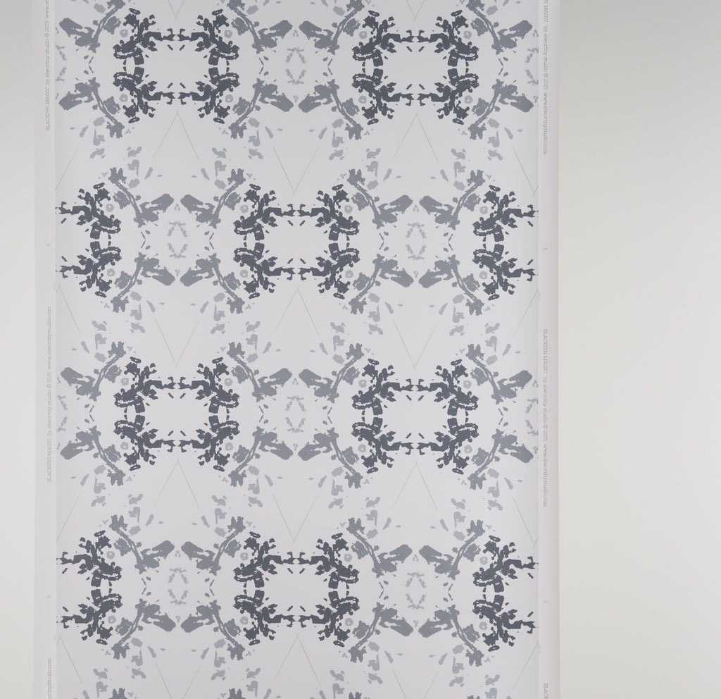 eco friendly white and gray wallpaper made in usa