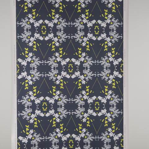Blackish Magic Wallpaper (Midnight/Chartreuse)
