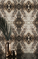 eco friendly bronze metallic wallpaper made in usa