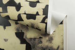 eco friendly textural black  gold textural wallpaper made in usa