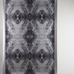 eco friendly metallic wallpaper black and silver