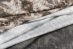 eco friendly metallic fabric made in usa