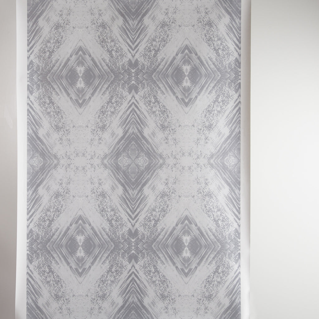 eco friendly silver white wallpaper made in usa