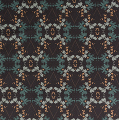 eco friendly black gray teal graphic wallpaper made in usa