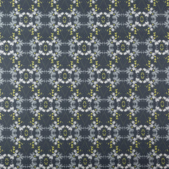 eco friendly blue gray chartreuse fabric made in usa