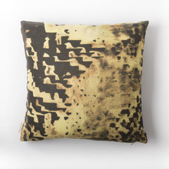 eco friendly gold alpaca filled hypoallergenic pillow