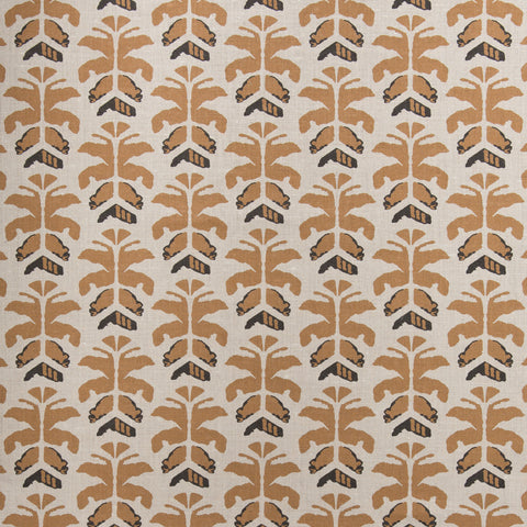 Wild Palms Fabric (Sahara)