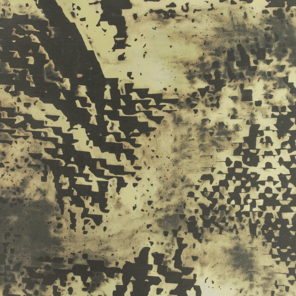 eco friendly textural black and gold fabric