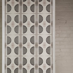 eco friendly modern geometric textural wallpaper made in usa