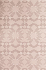 eco friendly blush pink geometric wallpaper made in usa lucina