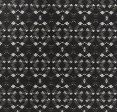eco friendly black and white geometric fabric