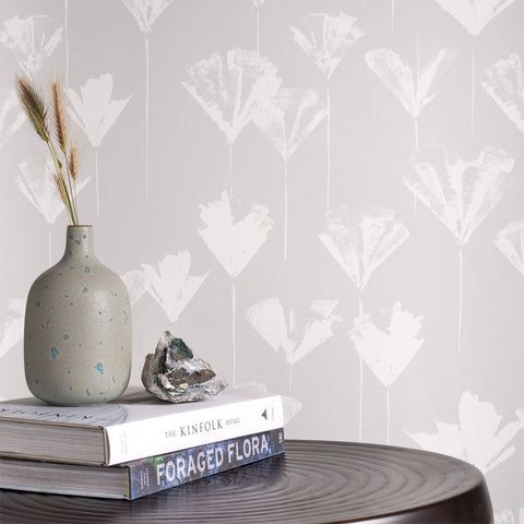 Botanica Wallpaper (Gray)