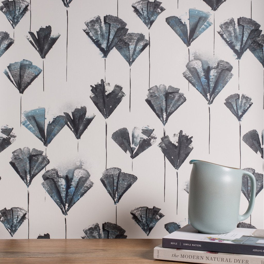 eco friendly botanical wallpaper