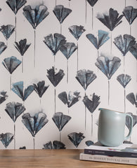 eco friendly botanical wallpaper made in usa