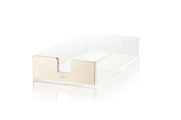 Kate Spade New York: Gold Acrylic Letter Tray