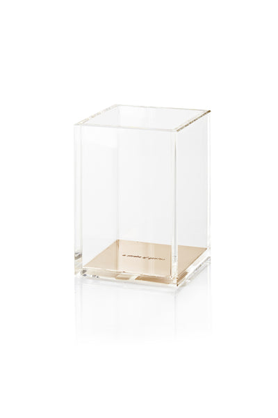 Kate Spade New York: Gold Acrylic Pencil Cup