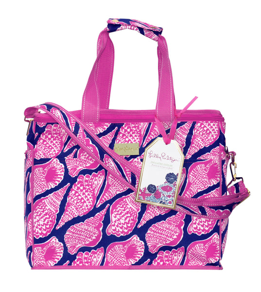 Lilly Pulitzer: Cute as Shell Insulated Cooler