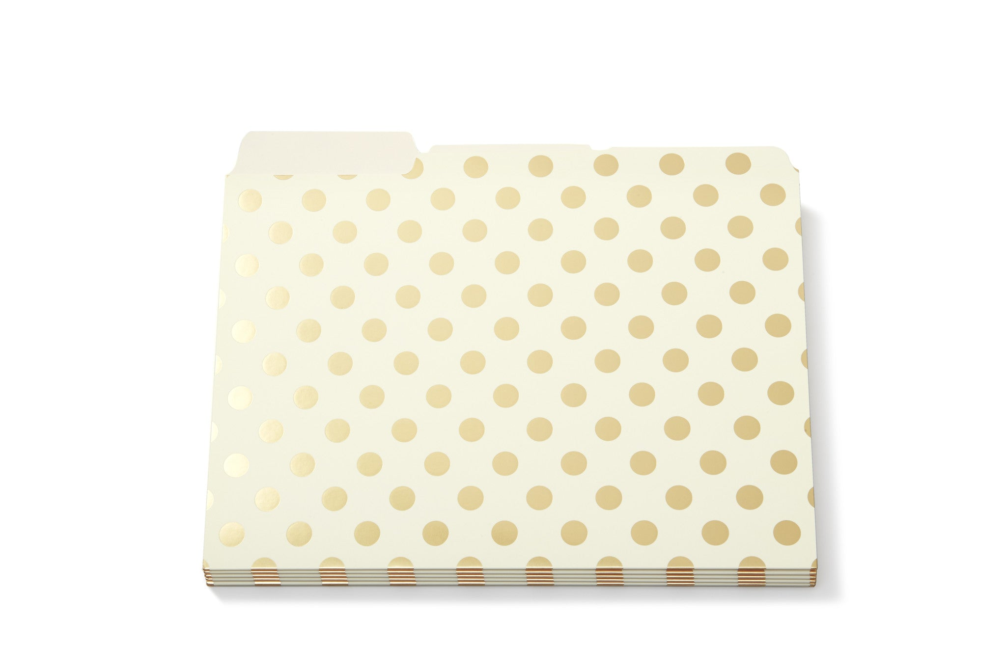 Kate Spade New York: Gold Dots File Folders