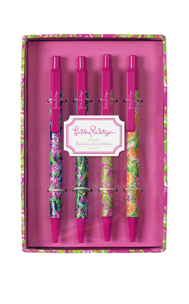 Lilly Pulitzer: Ink Pen Set