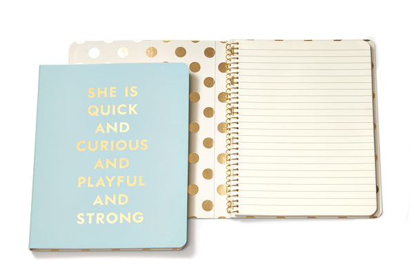 Kate Spade New York: Quick and Curious Notebook
