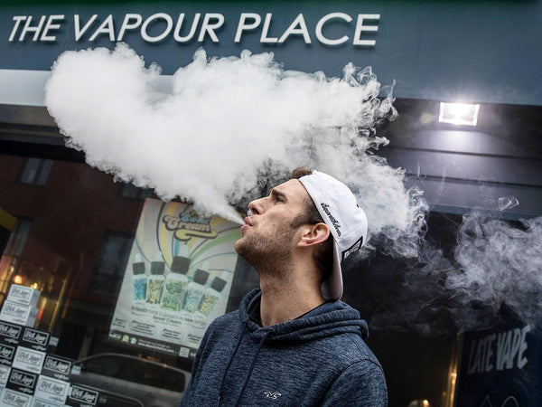 New Laws on Vaping Come Into Effect This Week FOR U.K.