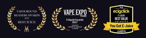 Worlds Top Awarded Affordable Ejuice