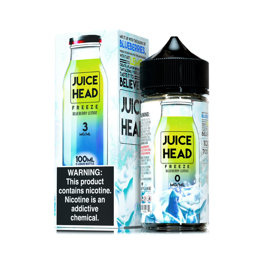 Juice Head Blueberry Lemon FREEZE - yougotejuice.com