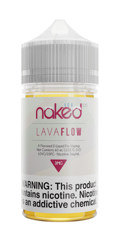 Naked 100 Lava Flow Ice - yougotejuice.com
