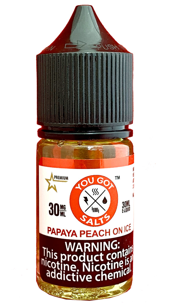 Papaya Peach on Ice (Salt Nic)