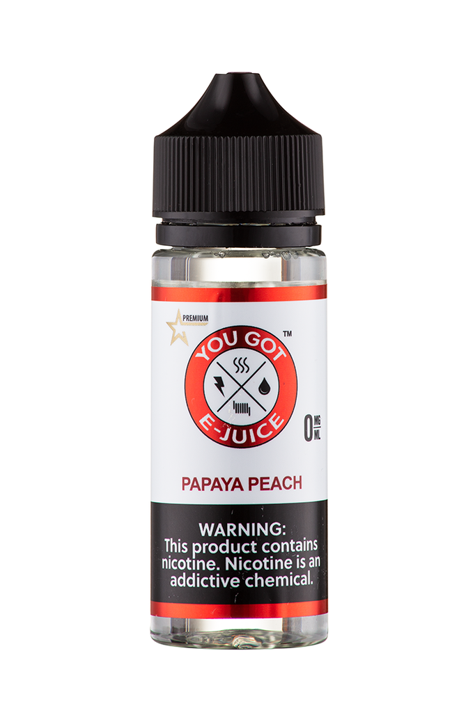 Papaya Peach 120ML - yougotejuice.com