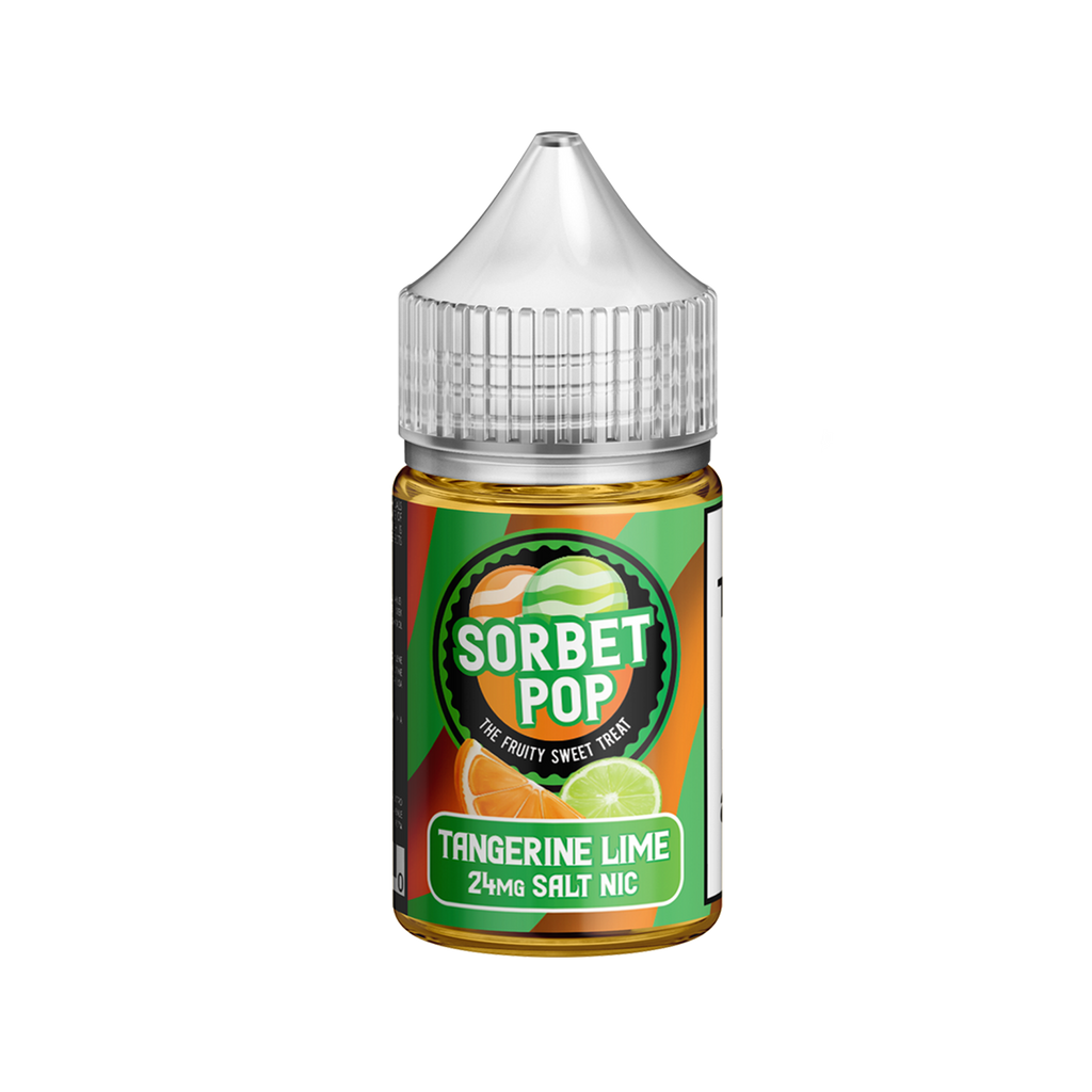 Tangerine Lime by Sorbet Pop Nicotine Salt E-Liquid