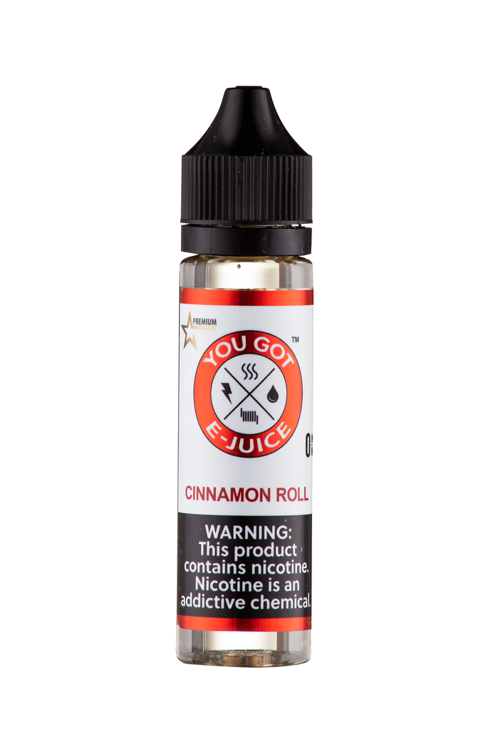 Cinnamon Roll 60ML - yougotejuice.com