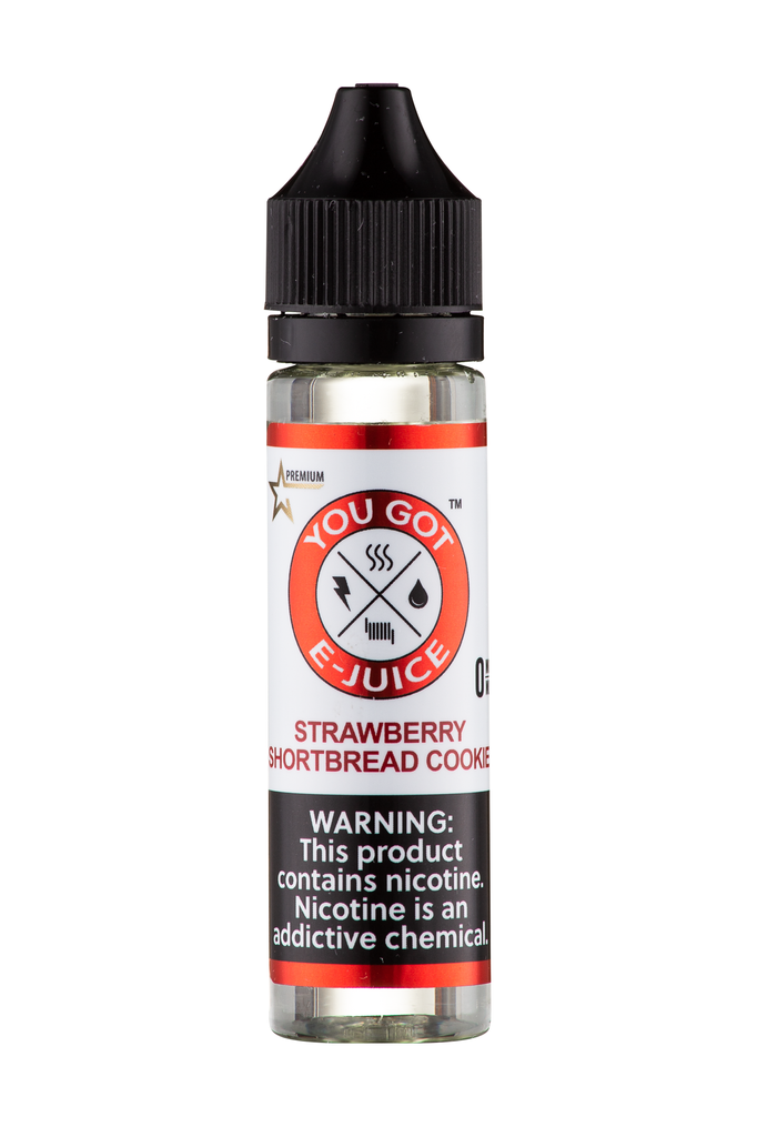 Strawberry Shortbread Cookie 60ML - yougotejuice.com