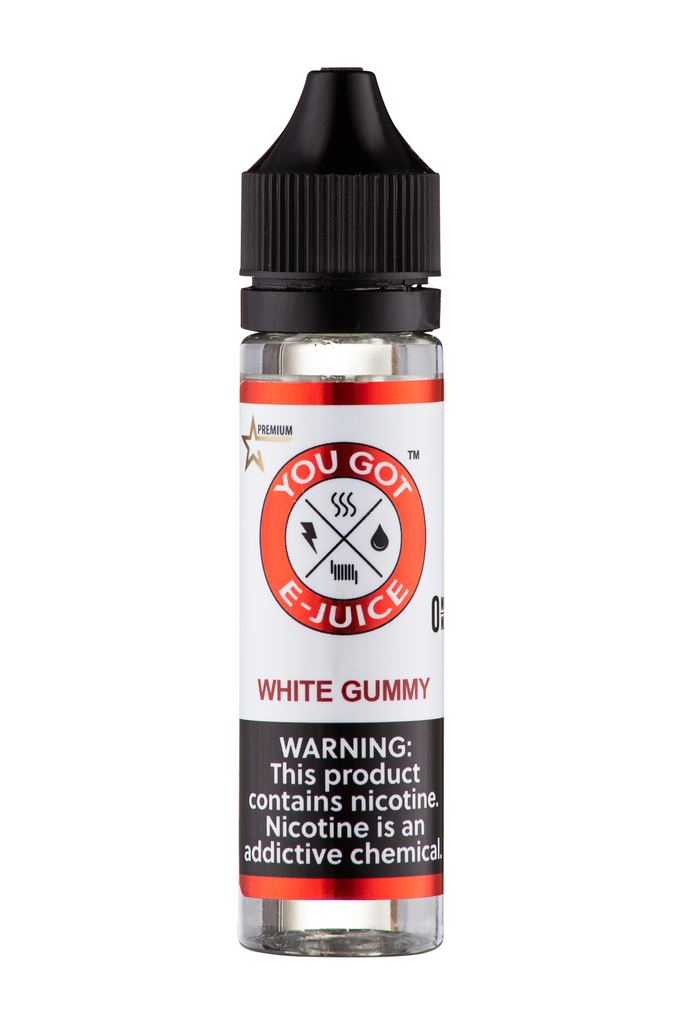 White Gummy 60ML - yougotejuice.com
